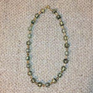 Jewelry - Glass bead necklace!